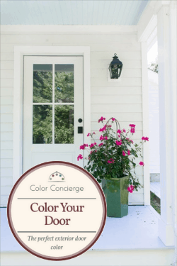 An online color consult package with 3 amazing paint colors to match your exterior.