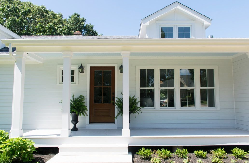 Coastal Cottage Exterior Makeover