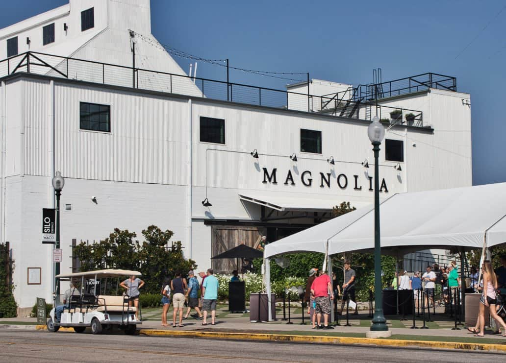 Magnolia Market with black and white color palette.