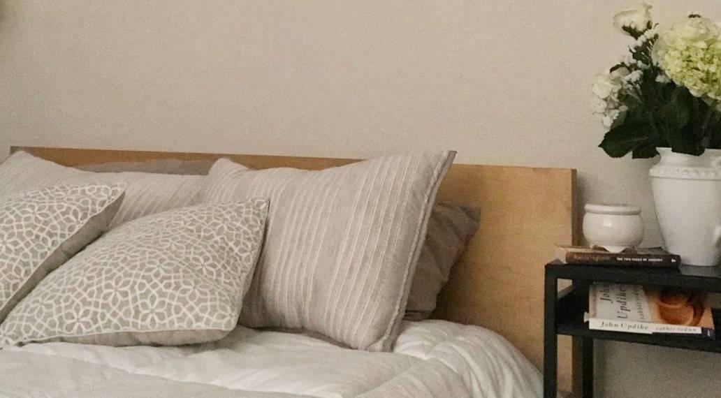 Zen Bedroom Makeover for a Single Mom