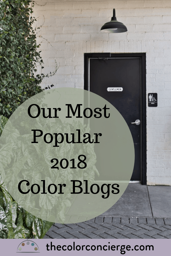 Color Concierge Most Popular 2018 Color Blogs