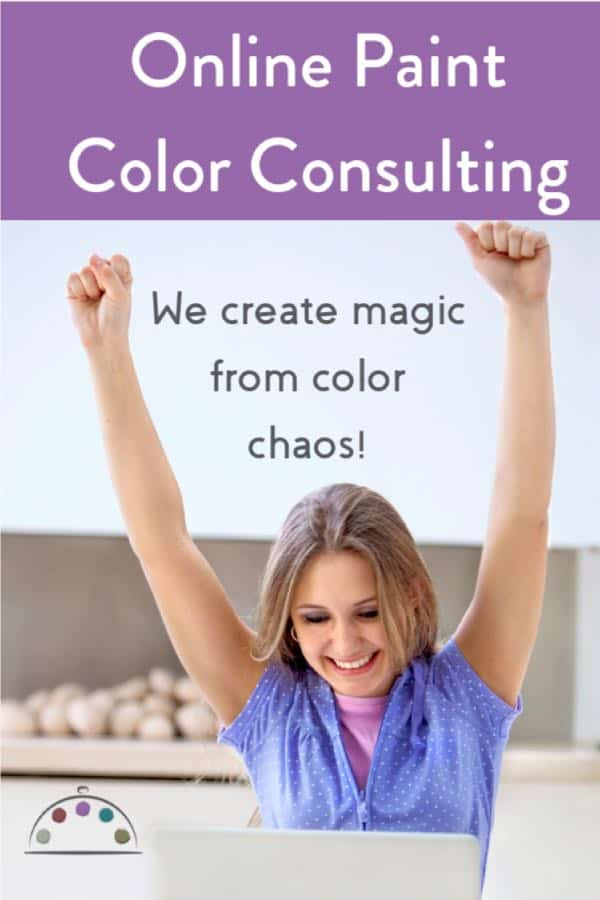 Online color consulting with email and photos.