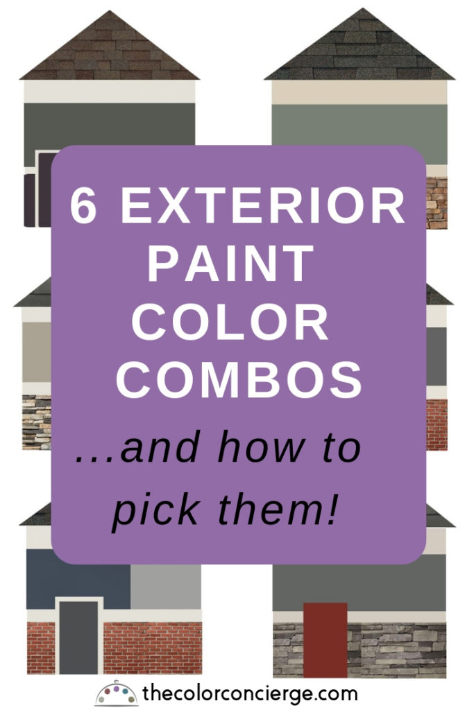 6 exterior paint colors palettes and how to pick them
