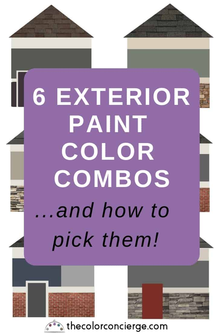 6 Exterior Paint Color Combos And How To Pick Them Color Concierge