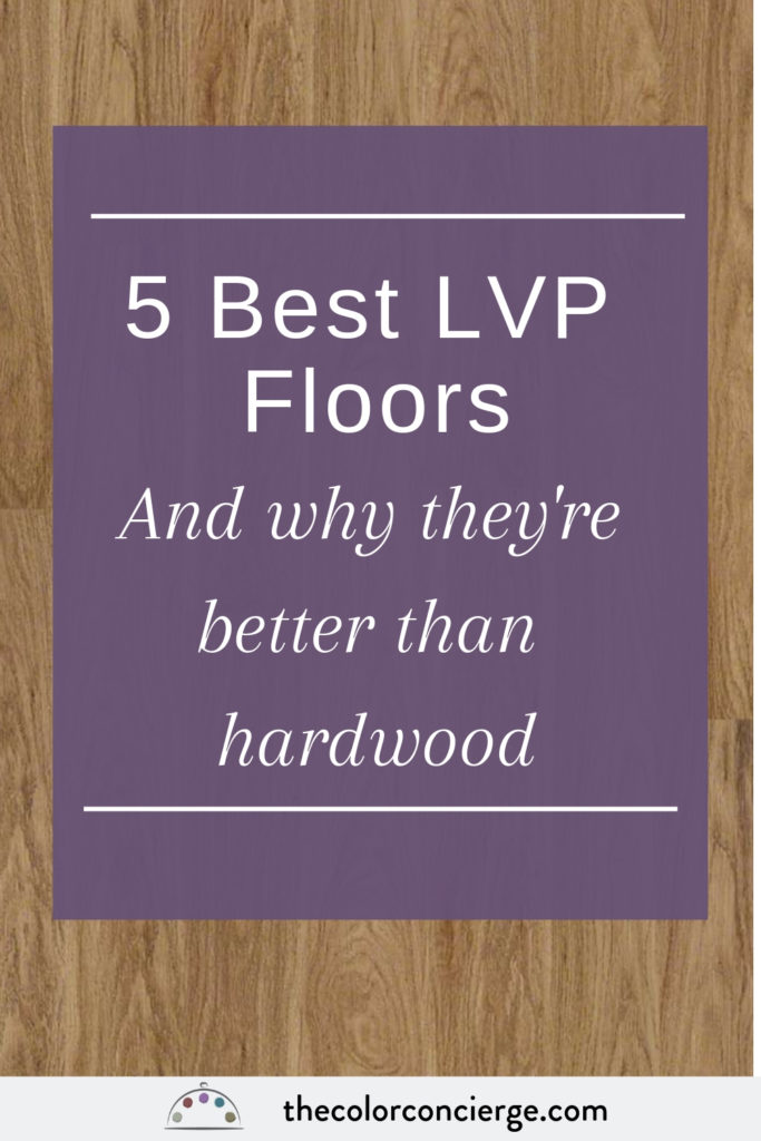 5 best LVP floors