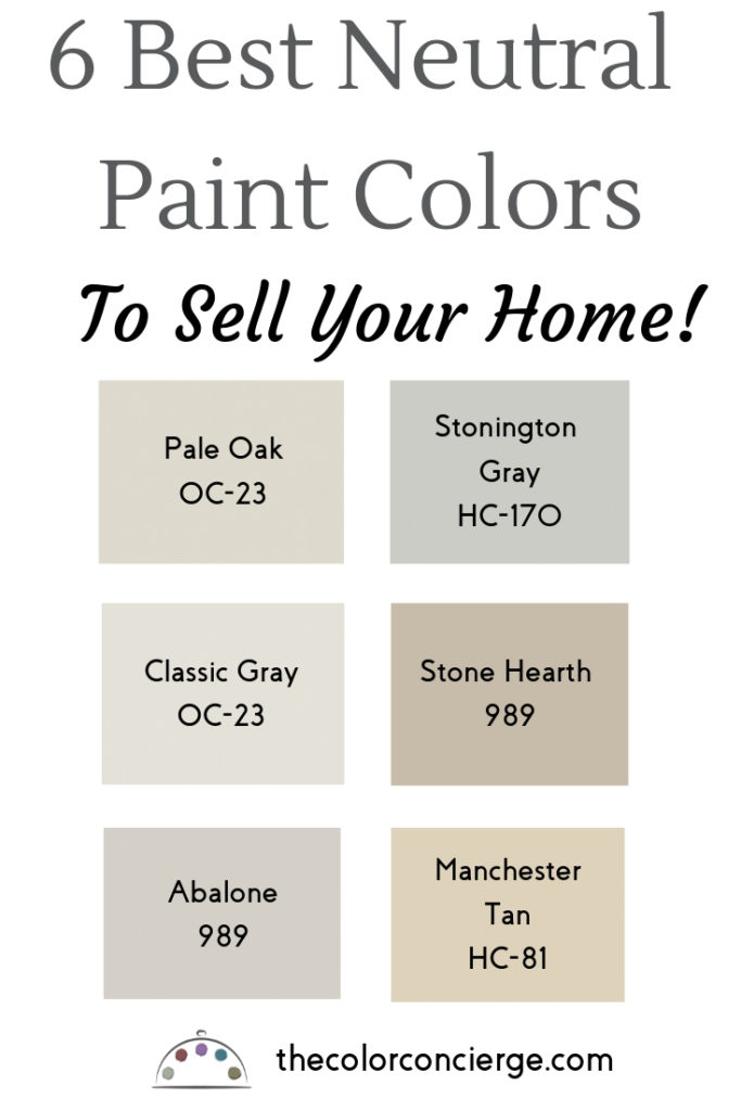 6 best neutral paint colors to sell your home