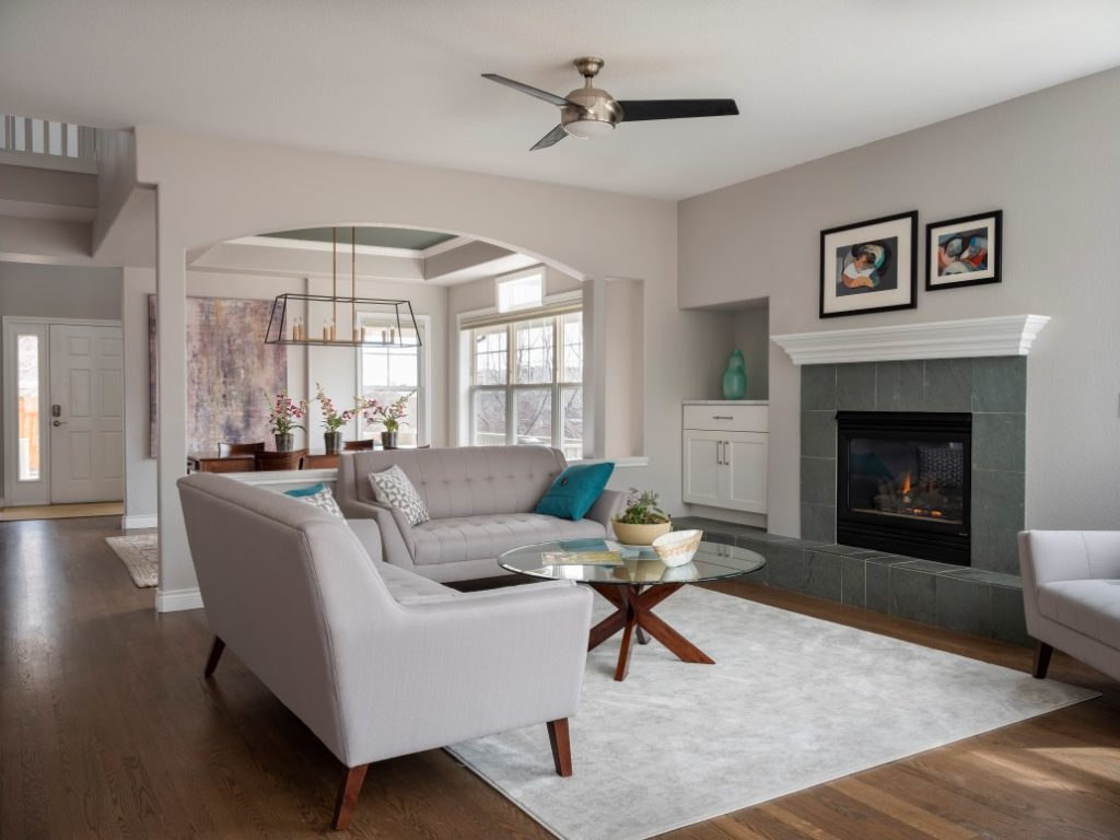 stonington gray living room