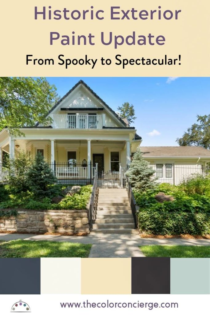 Historic Exterior Paint Update