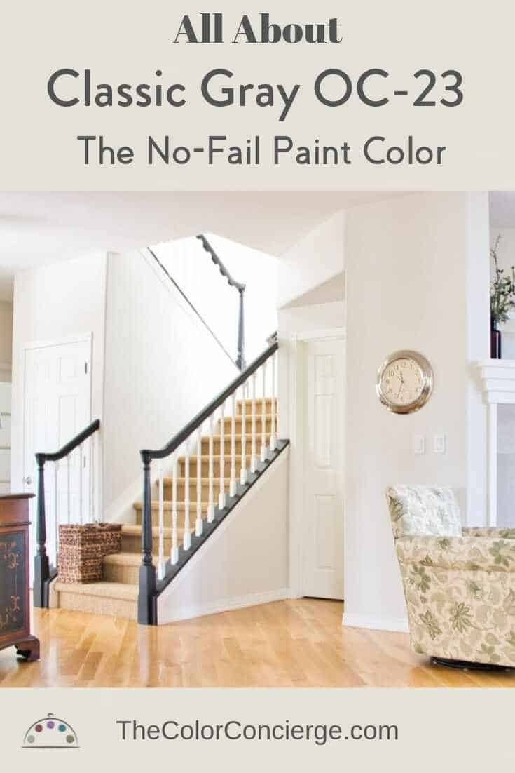 All about Benjamin Moore Classic Gray OC-23