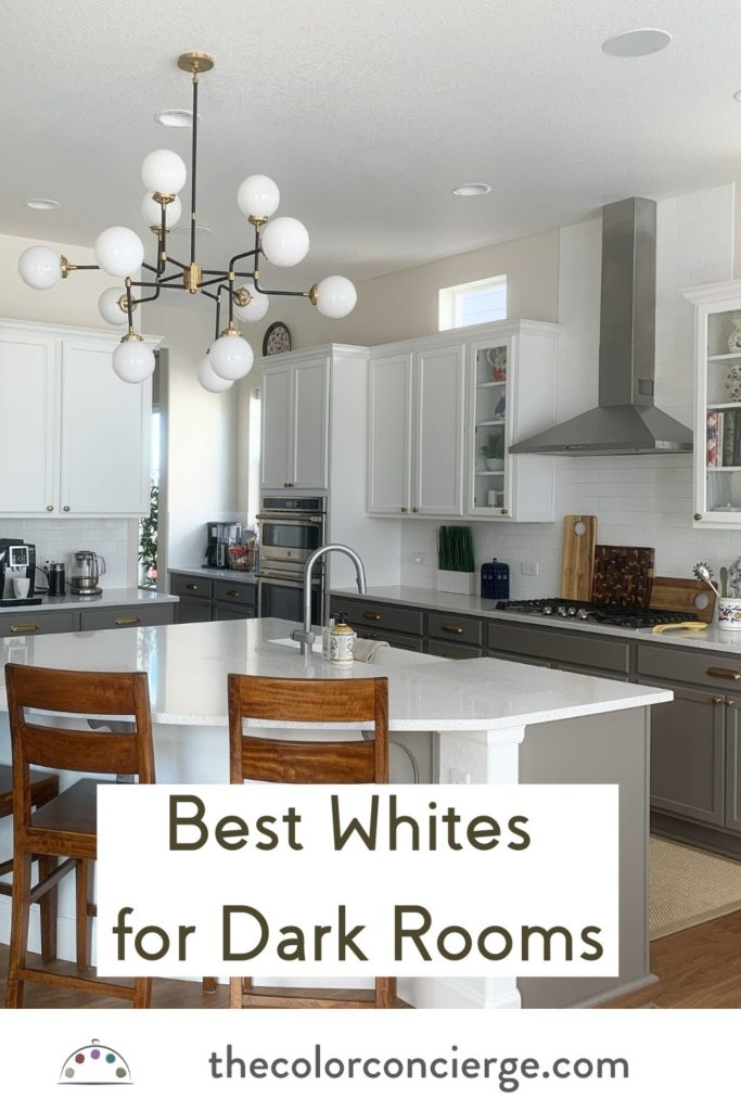 The 6 Best White Paint Colors For Dark Rooms,Modern Cottage Bedroom Decor