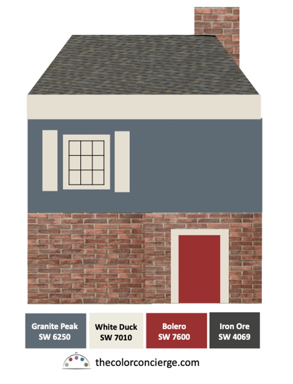 The Best Paint Color Palettes For Red Brick Houses