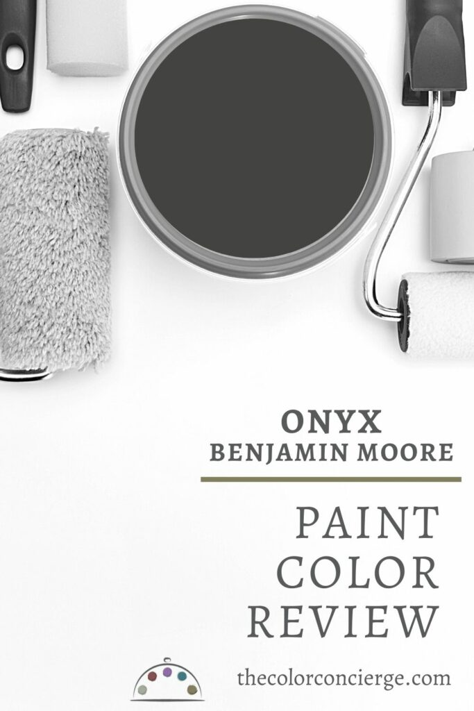 Benjamin Moore Onyx paint color review