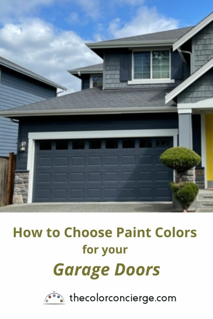 How to choose paint colors for your garage doors